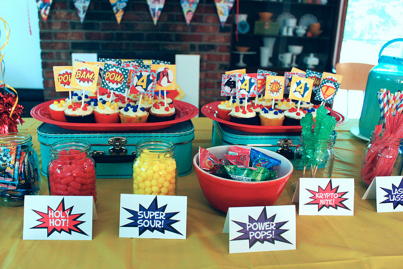 Super Hero Birthday Party Ideas So Cute Kidsncoupons