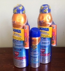 Banana Boat Sunscreen $1.20 at Target