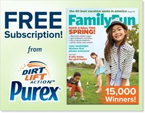 purex-family-fun-magazine-sweepstakes