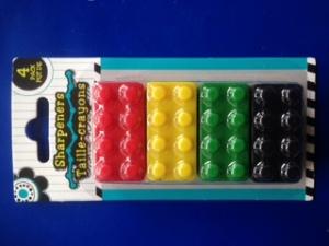 Lego sharpener